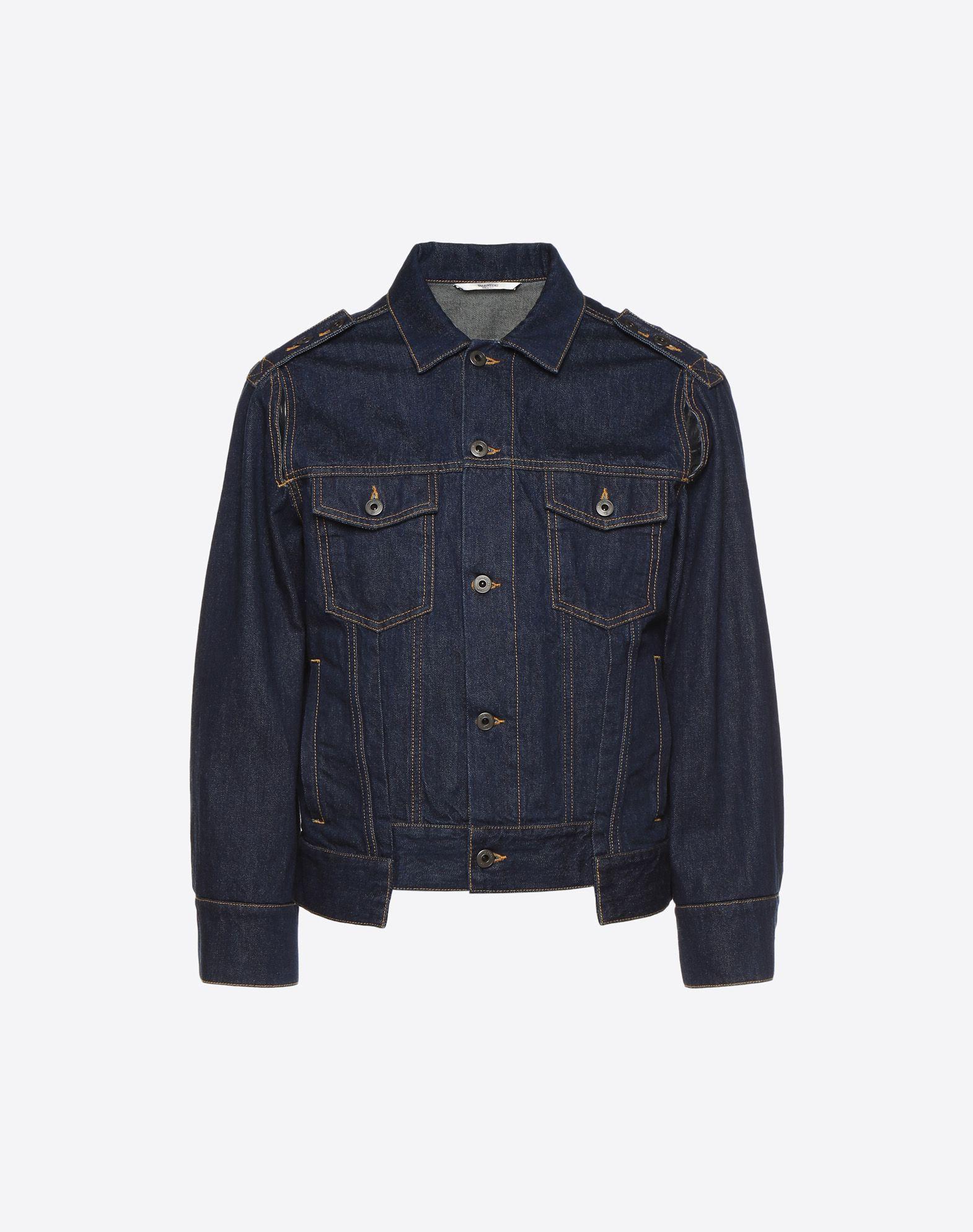 VALENTINO UOMO Denim jacket JACKET U f