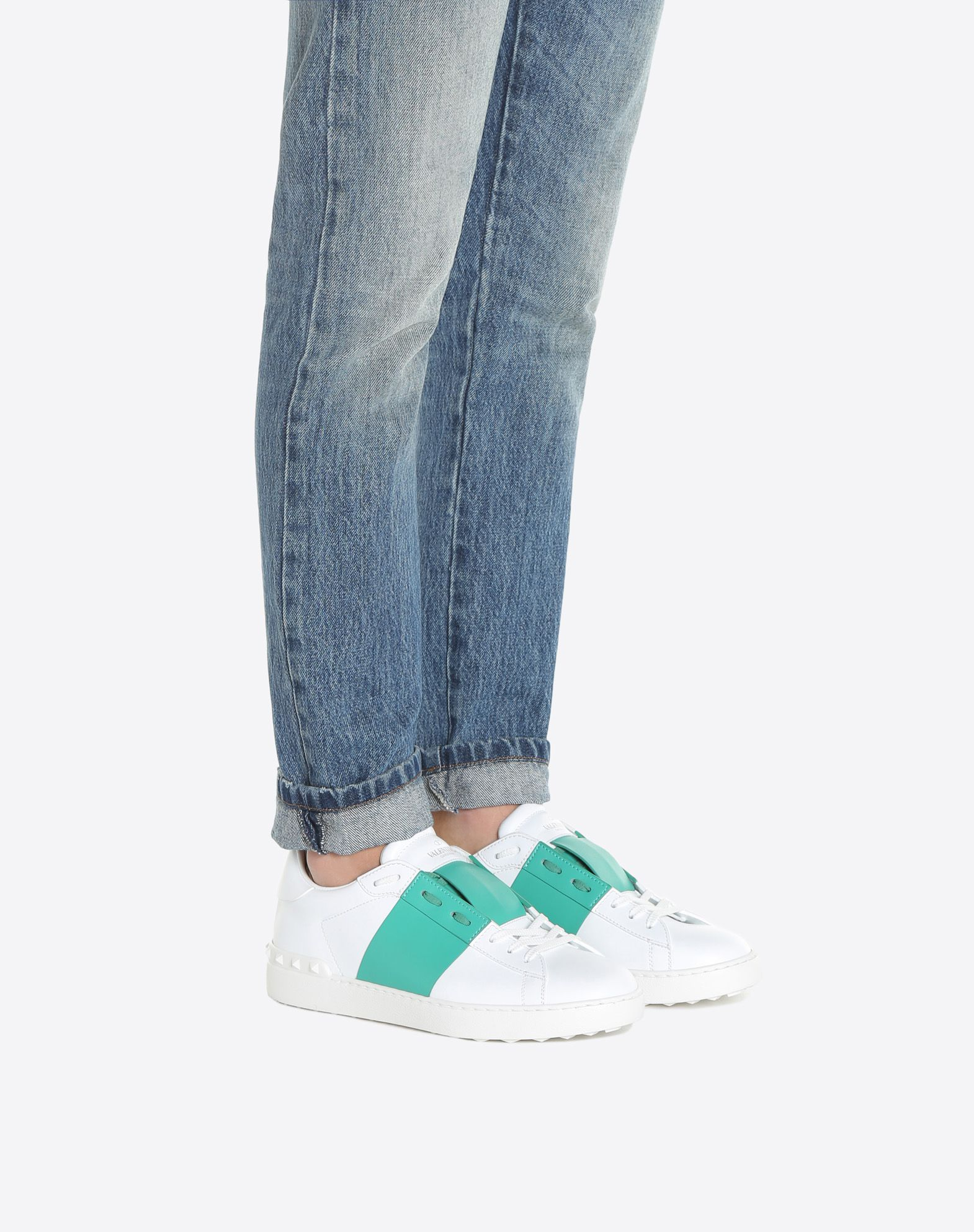 VALENTINO GARAVANI UOMO Open 低帮运动鞋 LOW-TOP SNEAKERS U a