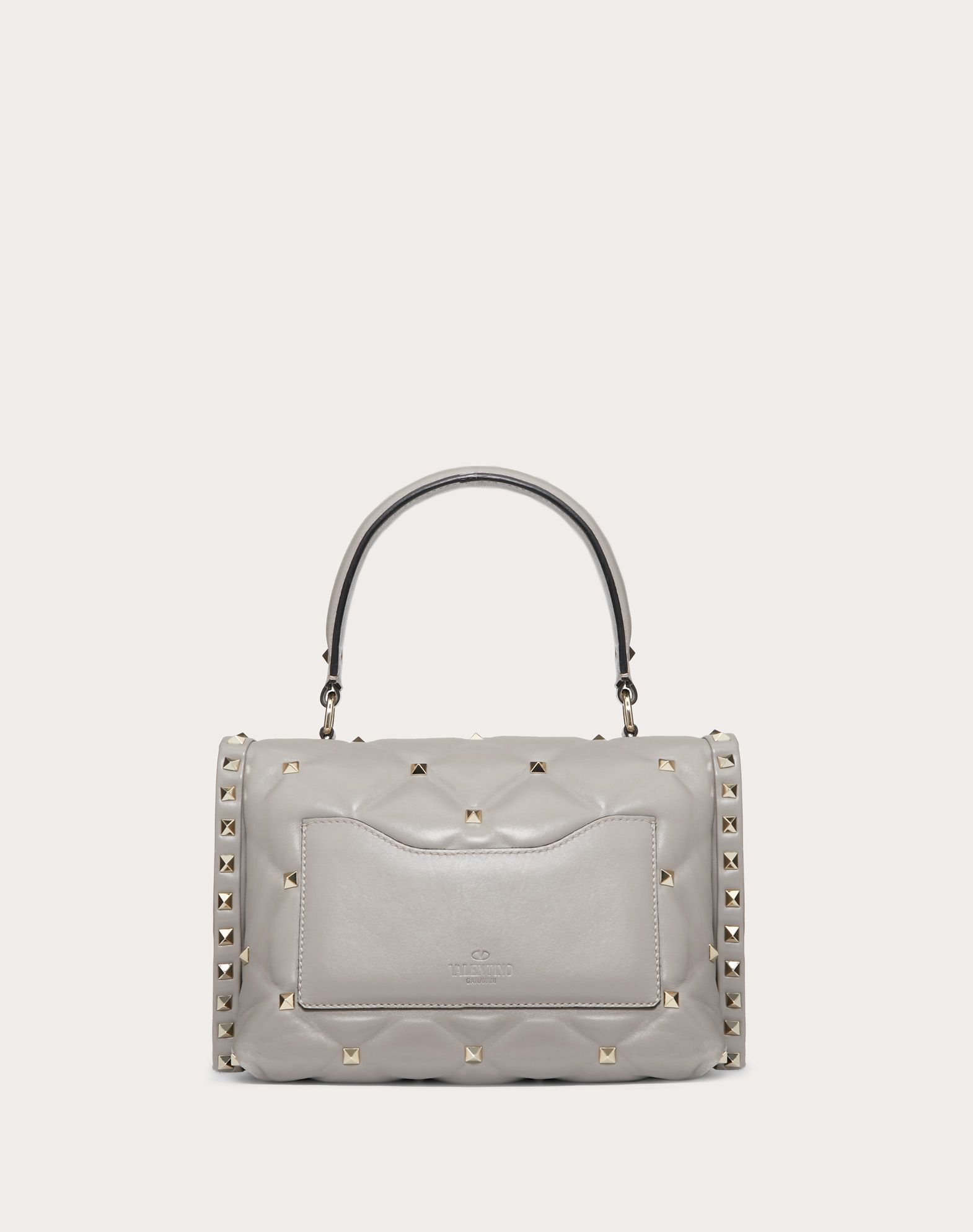 VALENTINO GARAVANI Candystud Top Handle Bag HANDBAG D d
