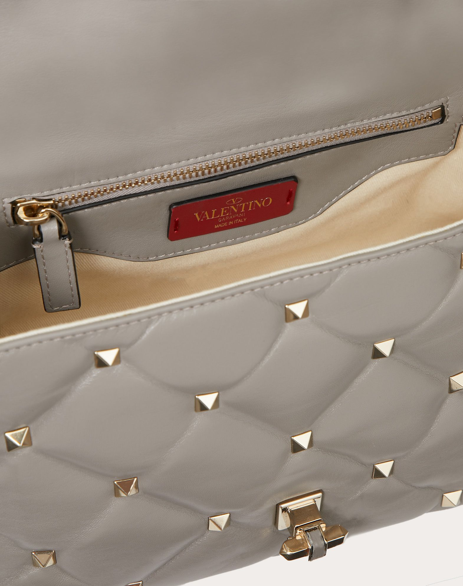 VALENTINO GARAVANI Candystud Top Handle Bag HANDBAG D e