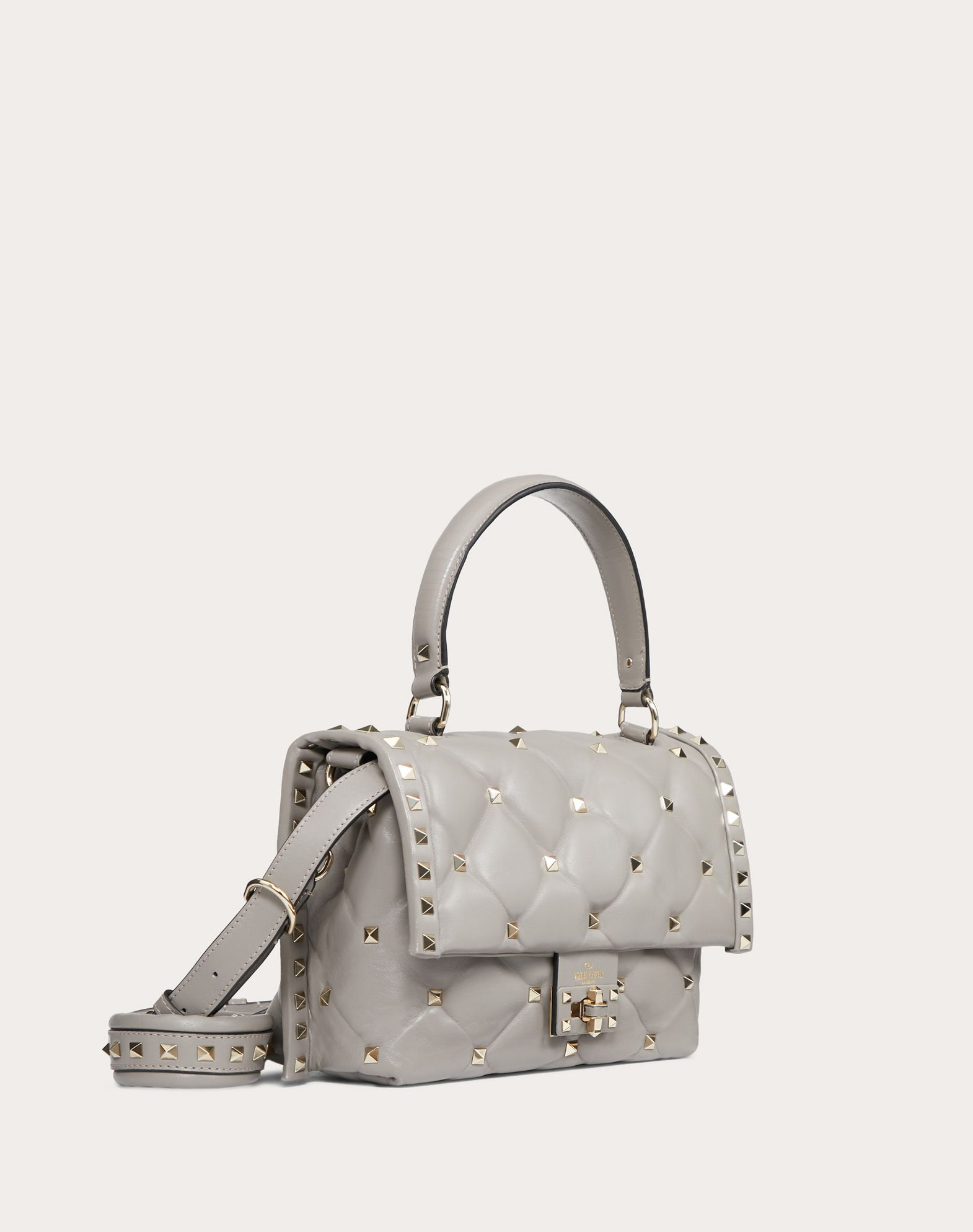 VALENTINO GARAVANI Candystud Top Handle Bag HANDBAG D r