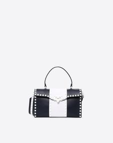 VALENTINO GARAVANI HANDBAG D Free Rockstud Spike Small Single-Handle Bag f