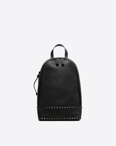 VALENTINO GARAVANI UOMO Backpack U Rockstud Mono-Shoulder Backpack f
