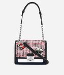 KARL LAGERFELD Captain Karl Tweed Mini Bag 8_f