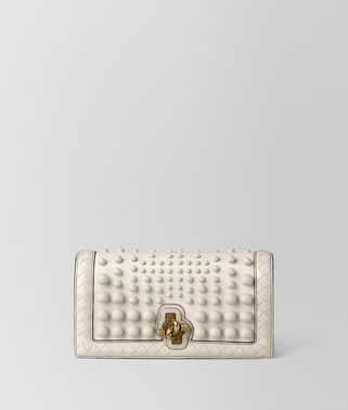 MIST NAPPA SPHERES KNOT CLUTCH