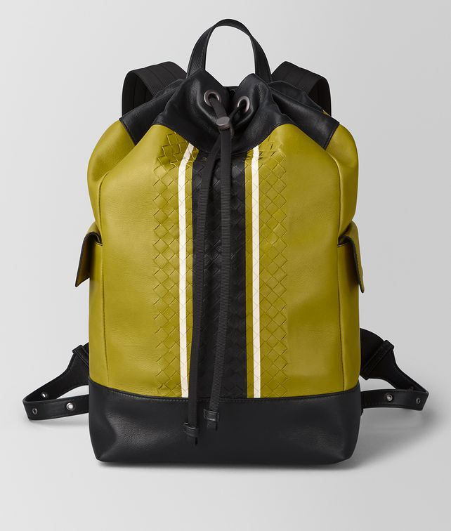 BOTTEGA VENETA CHAMOMILE VIALINEA CALF BACKPACK Backpack [*** pickupInStoreShippingNotGuaranteed_info ***] fp