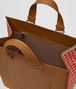 BOTTEGA VENETA LIGHT CALVADOS INTRECCIATO CHECKER TOTE Tote Bag Man dp