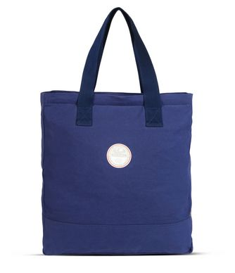 NAPAPIJRI HAWAII SHOPPER  TOTE & SHOULDER BAG ,BRIGHT BLUE