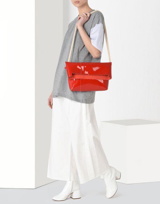 MM6 MAISON MARGIELA Patent cross body bag Shoulder bag Woman b