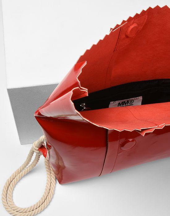 MM6 MAISON MARGIELA Patent cross body bag Shoulder bag Woman d