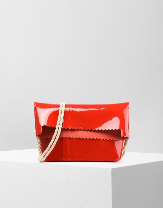 MM6 MAISON MARGIELA Patent cross body bag Shoulder bag Woman f