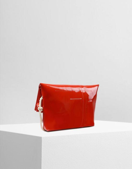 MM6 MAISON MARGIELA Patent cross body bag Shoulder bag Woman r