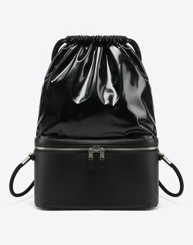MAISON MARGIELA Backpack U Two-tone backpack f