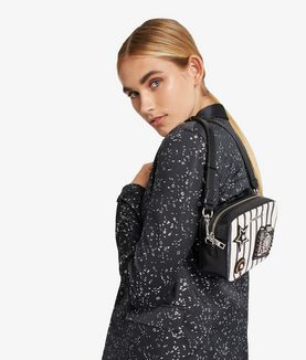 KARL LAGERFELD K/KLASSIK SPARKLE CAMERA BAG