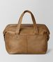 BOTTEGA VENETA CAMEL INTRECCIATO CHECKER DUFFLE Luggage Man lp