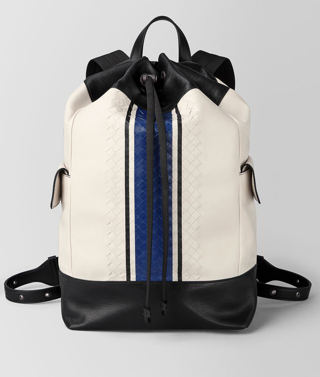 BOTTEGA VENETA MIST VIALINEA CALF BACKPACK Backpack [*** pickupInStoreShippingNotGuaranteed_info ***] fp