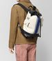 mist vialinea calf backpack Front Detail Portrait