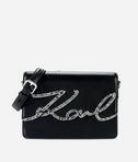 K/Signature  sac porté épaule avec cristaux
