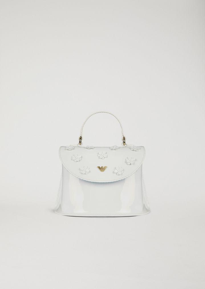 EMPORIO ARMANI Handbag with flowers Shoulder Bag Woman f