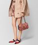 BOTTEGA VENETA HIBISCUS INTRECCIATO WINGTIP CITY KNOT BAG Shoulder Bag Woman ap