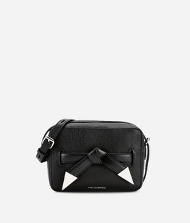 KARL LAGERFELD K/ROCKY BOW CAMERA BAG