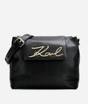 K/Signature Soft Shoulder Bag