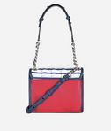 KARL LAGERFELD Mini Borsa a Mano Karl Capitano a Righe 8_d