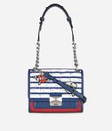 Captain Karl Strip Mini Handbag