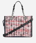 KARL LAGERFELD Captain Karl Tweed Mini Tote 8_d
