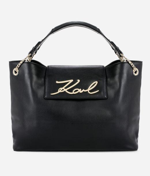 KARL LAGERFELD K/Signature Soft Shopper 12_f