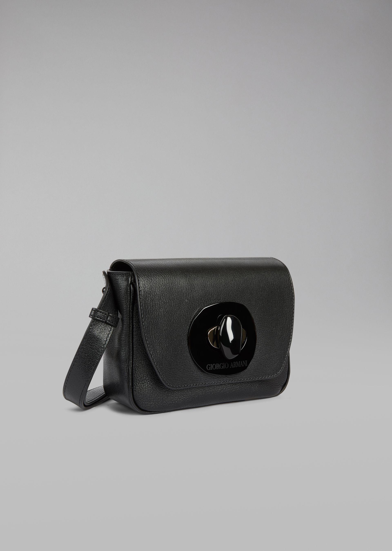 GIORGIO ARMANI Кожаная сумка на коротком ремешке Мини-сумка D d