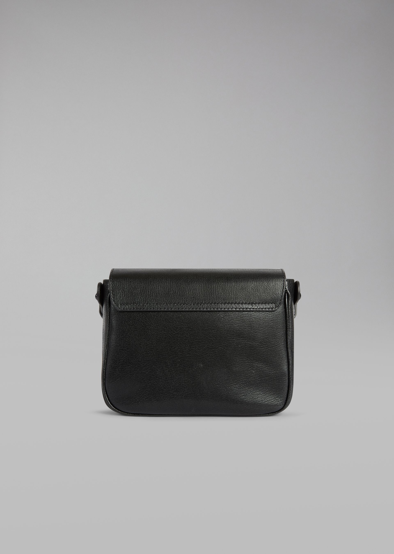 GIORGIO ARMANI Кожаная сумка на коротком ремешке Мини-сумка D e