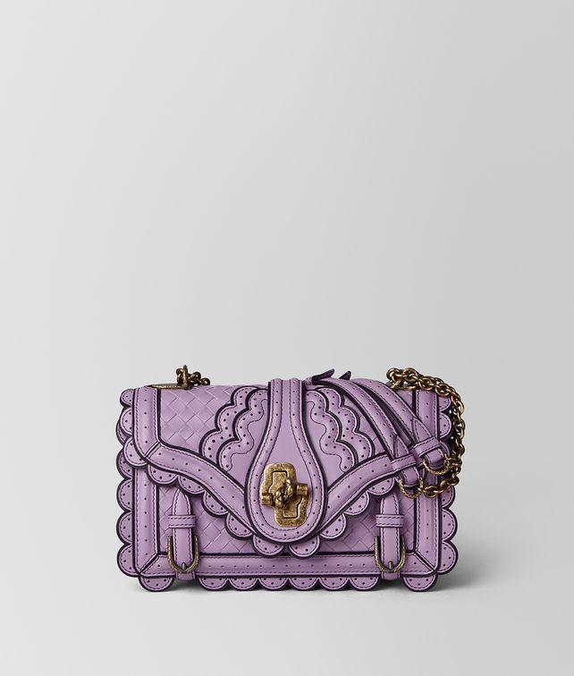 BOTTEGA VENETA LILAC INTRECCIATO WINGTIP CITY KNOT BAG Shoulder Bag Woman fp