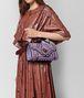 BOTTEGA VENETA LILAC INTRECCIATO WINGTIP CITY KNOT BAG Shoulder Bag Woman ap