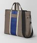 steel vialinea struzzo tote Right Side Portrait