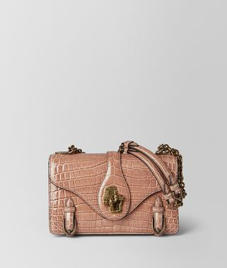 DAHLIA CROCODILE CITY KNOT  BAG
