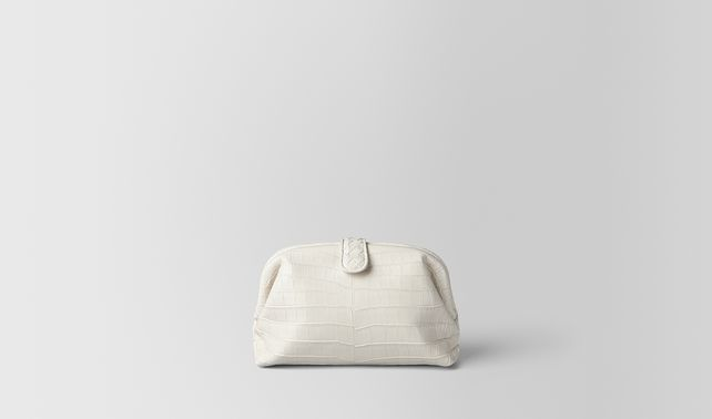 LATTE SOFT CROCODILE THE LAUREN 1980 BAG