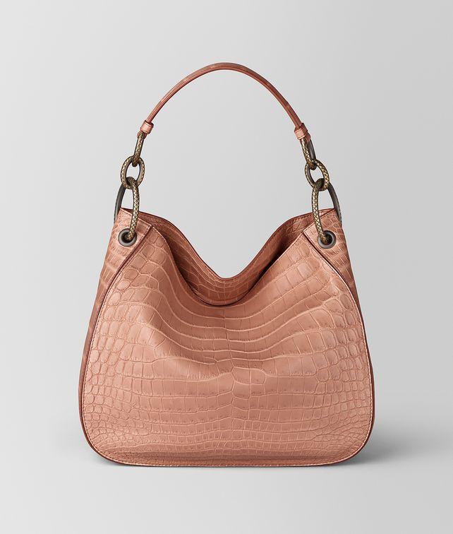BOTTEGA VENETA DAHLIA COCCO SOUPLÉ LOOP BAG Hobo Bag Woman fp