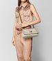 BOTTEGA VENETA MIST INTRECCIATO CHECKER OLIMPIA KNOT BAG Shoulder Bag Woman ap