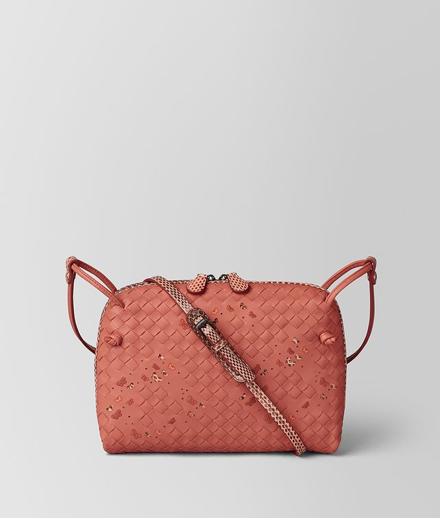BOTTEGA VENETA HIBISCUS INTRECCIATO NAPPA AYERS NODINI BAG Crossbody bag Woman fp