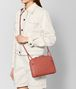 BOTTEGA VENETA HIBISCUS INTRECCIATO NAPPA AYERS NODINI BAG Crossbody bag Woman ap