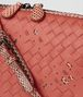 BOTTEGA VENETA HIBISCUS INTRECCIATO NAPPA AYERS NODINI BAG Crossbody bag Woman ep