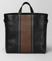 BOTTEGA VENETA NERO VIALINEA CALF TOTE Tote Bag Man lp