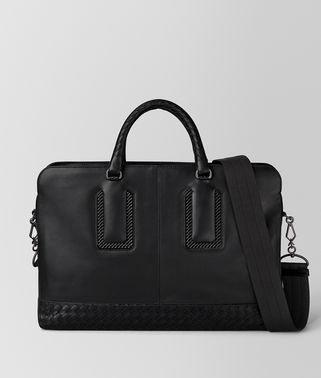NERO FRENCH CALF NICOLO BRIEFCASE