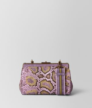 PARME HAND-PAINTED PYTHON BURANO BAG