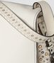 BOTTEGA VENETA LATTE INTRECCIATO PALIO MESSENGER Shoulder Bag Woman ep