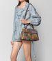 BOTTEGA VENETA MULTICOLOR AYERS PATCHWORK MEDIUM PIAZZA BAG Top Handle Bag Woman ap