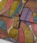BOTTEGA VENETA MULTICOLOR AYERS PATCHWORK MEDIUM PIAZZA BAG Top Handle Bag Woman ep