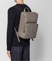 BOTTEGA VENETA STEEL INTRECCIATO BOUTIS NY NAPPA BACKPACK Backpack Man ap