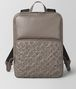 BOTTEGA VENETA STEEL INTRECCIATO BOUTIS NY NAPPA BACKPACK Backpack Man fp